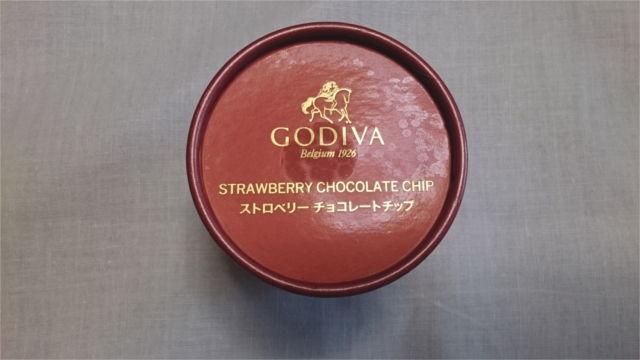 ストロベリーチョコレートチップの容器