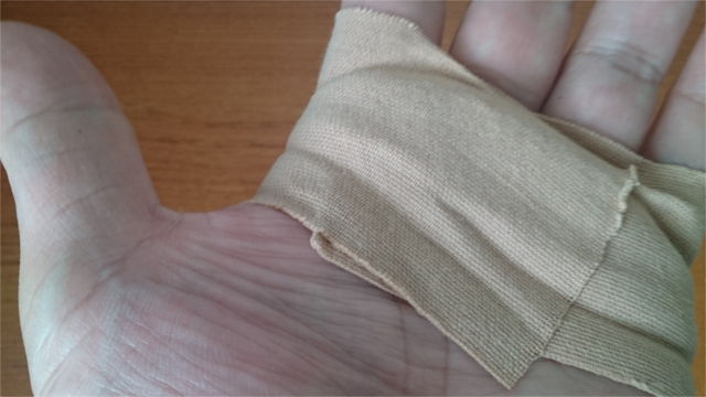手の皮がむけるのを防止