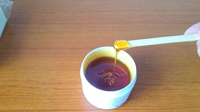 ハチミツの香りがするBABYWAX