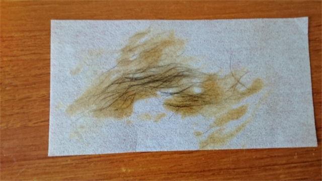 BABYWAXで脱毛した乳毛2