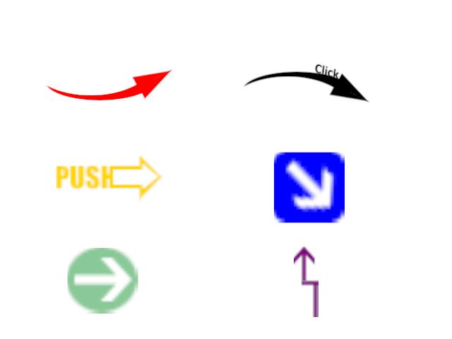 Arrow Brushesによる色んな矢印
