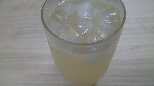 河内晩柑果汁の炭酸割り
