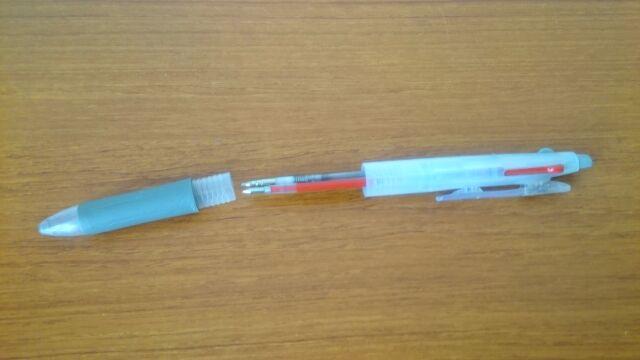 ペンを分解する