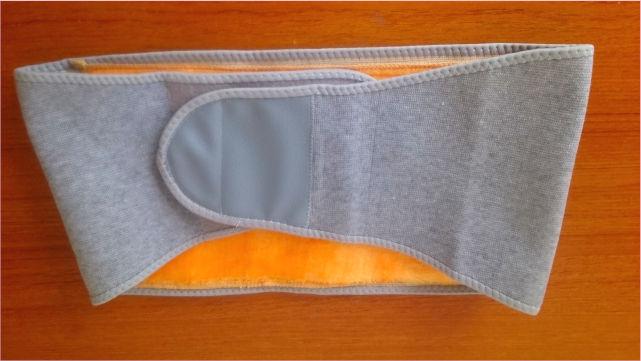 Lサイズの腰暖ベルト