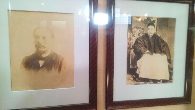 伊藤博文と李鴻章の画像