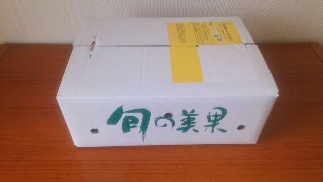 「紀州 田舎の小さな八百屋さんの段ボール箱