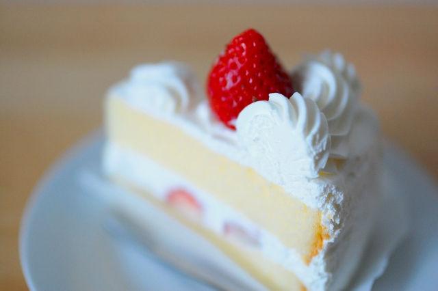 普通のショートケーキ