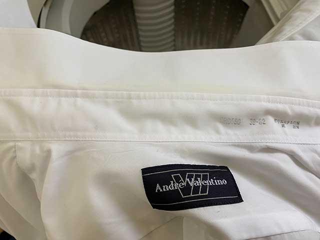 洗いあがったワイシャツ