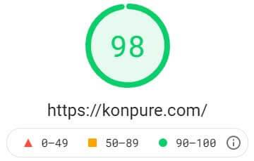 アドセンスの遅延表示をした場合のPageSpeed Insightsにおけるパソコンでの表示速度