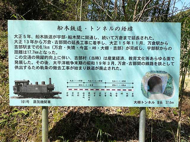 舟木鉄道と大棚トンネルの歴史