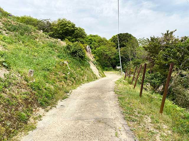 巌流島の展望地までの道のり