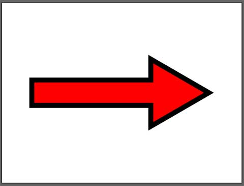 Illustratorで矢印を作成