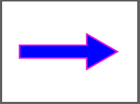Illusratorで矢印のデザインを変更