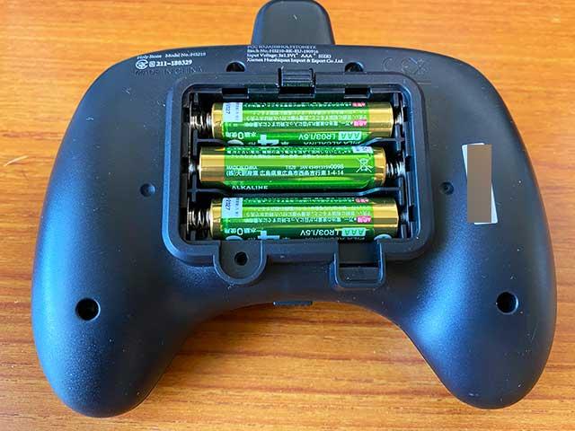 HS210PRO送信機電池ボックス