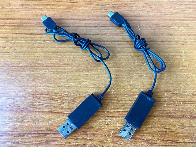 HS210PROバッテリー充電ケーブル
